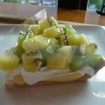 フルーツ プラザ - Wキウイタルト