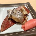鮨ほまれ - ○太刀魚塩焼き様