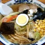 六太郎食堂 - 五目中華そば