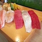 松栄寿司 - 前半