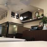 洋食レストラン ロッキー - 内観