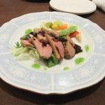 14204261 - 鴨肉のローストのサラダ仕立て