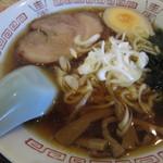 香味坊 - 半ラーメン(醤油)