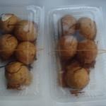 蛸ん壷 - たこ焼き:右とえび焼き