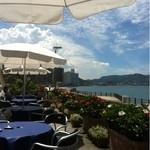 レストランミケイラ - 瀬戸内海を一望できるテラス席