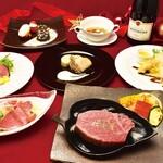 近江牛専門店 れすとらん 松喜屋 - 料理写真:クリスマスメニュー