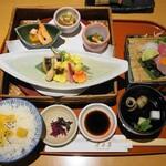 月日亭 - 大和牛味噌豆乳鍋御膳(2480円)