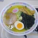 札幌市役所本庁舎食堂 - 塩ラーメン