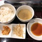 肉屋 金星 - 焼肉定食