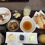 越中の台所 きのか - 天ぷら定食
