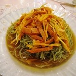 中華料理 彩香 - 翡翠葱油涼麺