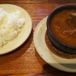 Emmichishokudou - 牡蠣とカブとシーフードのスープカレー