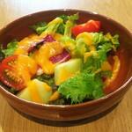 Emmichishokudou - ランチセットのサラダ