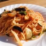 ベラヴィスタ - 季節野菜のトマトソース800円