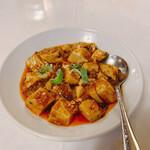 yokohamachuukagaikaigenshukataiwanshourompousemmonten - 四川麻婆豆腐、割と本格的で1番美味しかったです。