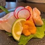 SHARI THE TOKYO SUSHI BAR - 花籠膳のお造り