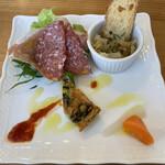 ラディーチェ - 料理写真:前菜
