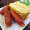 栄食堂 - 料理写真:卵とウインナー 300円