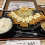 豚菜 - タルタルチキンカツ定食