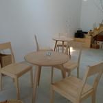 ウフ - テーブルは3卓です