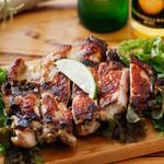 Bravo!! sound dining - ジャマイカの郷土料理ジャークチキン。(野外フェスで出店し人気でた一品)