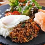Bravo!! sound dining - タイのソウルフード「ガパオライス」日本人向けに味付け。(中毒者続出中‼)
