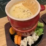 肉バル ビーフキッチンスタンド - チーズフォンデュ