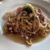 Pichipichikingyo - 料理写真:蛸とアンチョビのパスタ(ニンニクオイル)