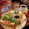 珈琲屋らんぷ - 料理写真:モーニング サンドウィッチセット