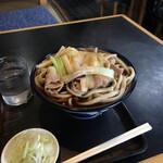 角萬 - 料理写真:肉南蛮蕎麦