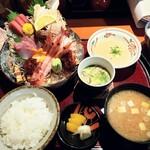 北野水産 - 刺身御膳 1480円