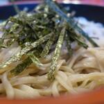 佐久の草笛 - 料理写真:ざる(700円)