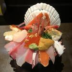 Yamasansushi - 海鮮丼             訪問時期は7月下旬