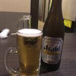 炙り炉端 山尾 - 瓶ビール(飲み放題)
