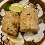 河内鴨料理 田ぶち - 炊き込みご飯
