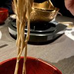 河内鴨料理 田ぶち - お蕎麦おいしい