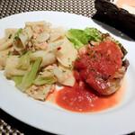 wabi-sabi ITALIAN - 料理写真:ハーフ&ハーフランチ