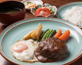 浪漫風 - ディナーセット「ハンバーグステーキ」」