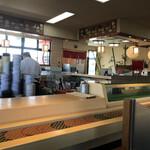 スーパー回転寿司 やまと - キッチン方向