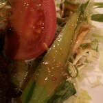 ティンカーベル - 野菜のアップ