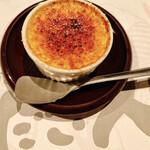 だい人 - 五郎島金時芋のクリームブリュレ