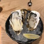 かなわ - ドリンクセットの生牡蠣