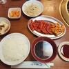 焼肉太白 - 料理写真:カルビ定食1,050円+ハーフホルモン170円(ランチ)