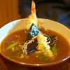 京うどん 生蕎麦 岡北 - 料理写真:海老天カレーうどん