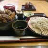 玉家 - 料理写真:ソースカツ丼セット冷たい蕎麦〜蕎麦は更級でした