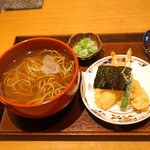 京うどん 生蕎麦 岡北 - 天ぷらそば