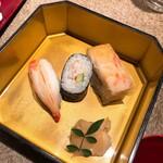 網元 別館 - かに寿司