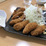 松屋 - 牡蠣フライ