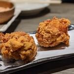 水炊き・焼鳥 とりいちず酒場 - 鶏肉は美味しかったけど、如何にせむ、仕上りカチコチ硬々。
