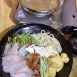 海老元 - 海老しゃぶカレー鍋